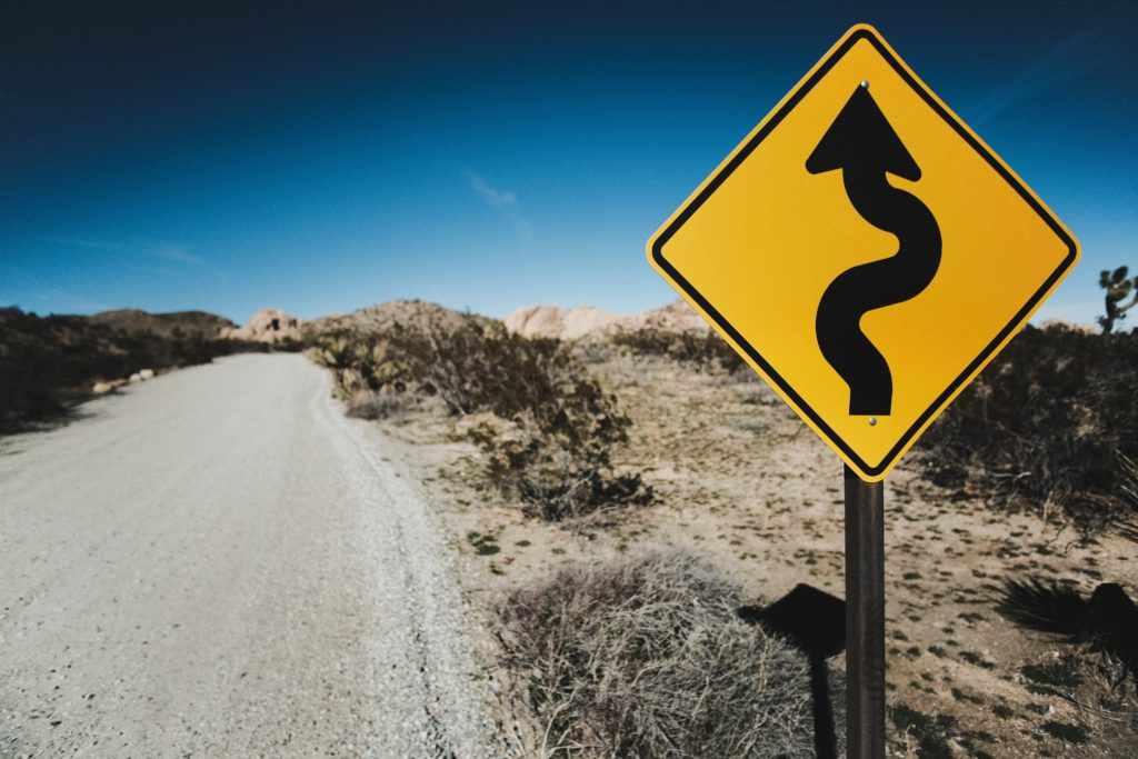 PR for tech startups - an ultimate guide: a picture of a road sign as an illustration